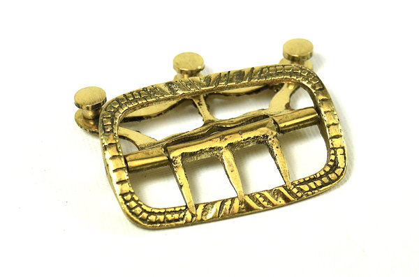 Neck stock buckle